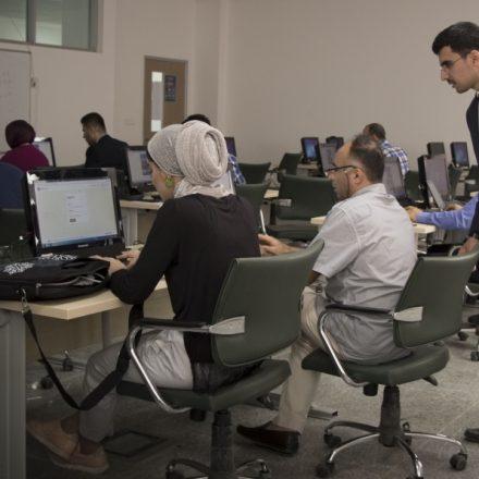 Komar University held a workshop on LaTeX