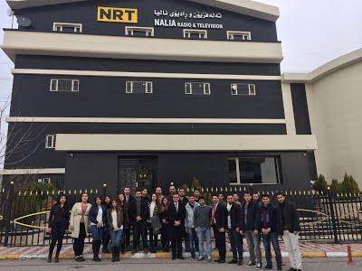 Scientific trip to NRT TV