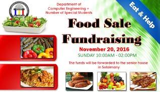Food Sale Fundraising