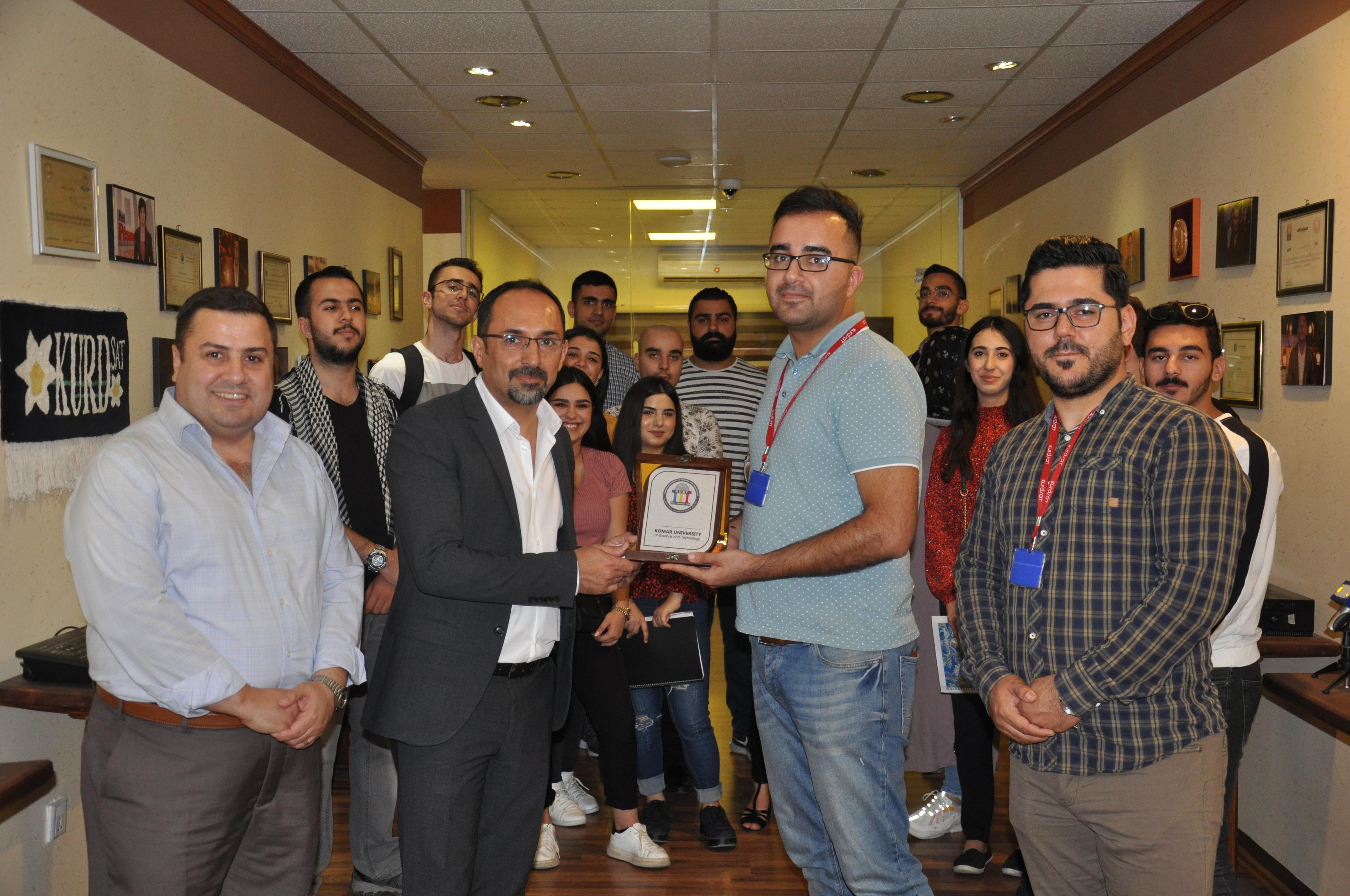 Visit of KurdSat